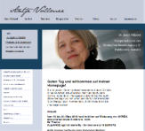 Webseite Antje Vollmer